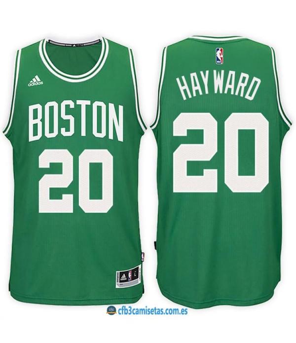 CFB3-Camisetas Gordon Hayward Boston Celtics Green