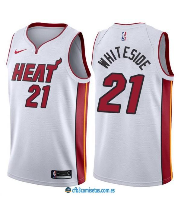 CFB3-Camisetas Hassan Whiteside Miami Heat Associa...