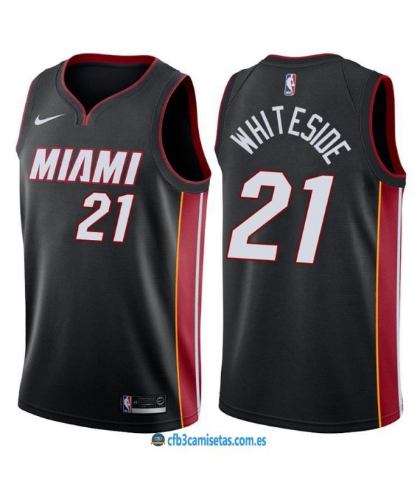CFB3-Camisetas Hassan Whiteside Miami Heat Icon