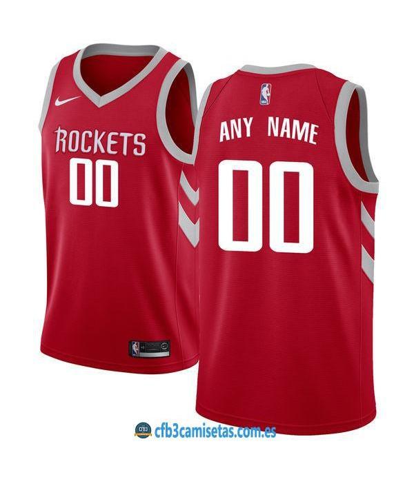 CFB3-Camisetas Houston Rockets Icon PERSONALIZABLE