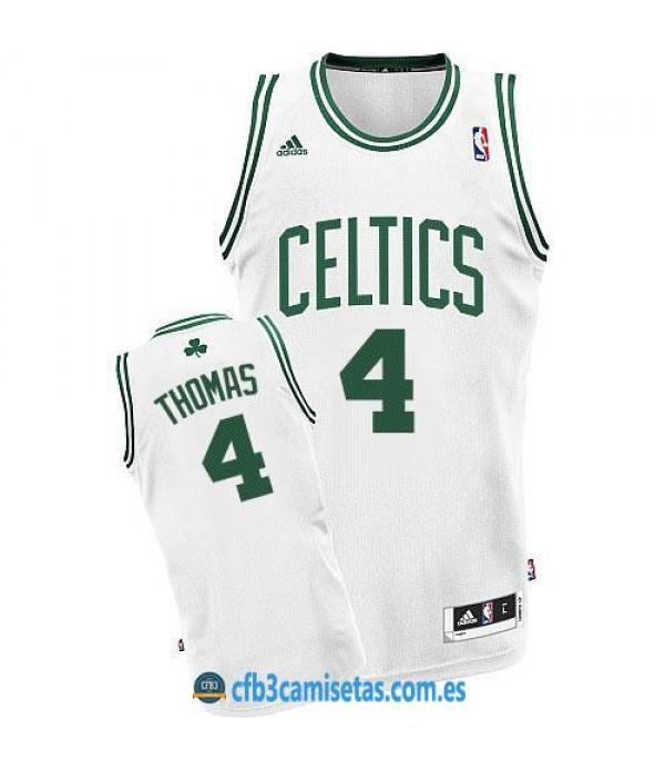 CFB3-Camisetas Isaiah Thomas Boston Celtics White