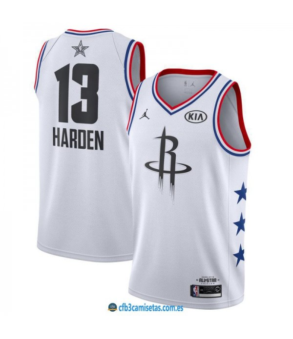 CFB3-Camisetas James Harden 2019 All Star White