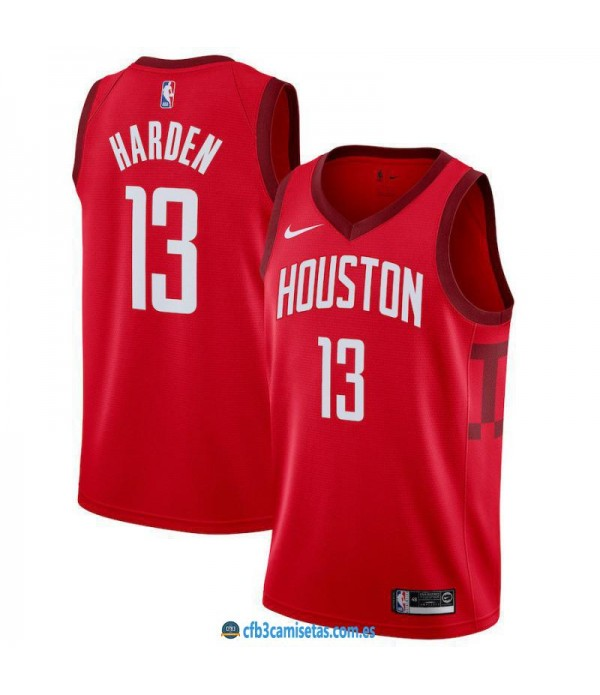 CFB3-Camisetas James Harden Houston Rockets 2018 2...
