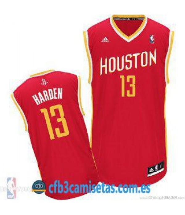 CFB3-Camisetas James Harden Houston Rockets Altern...