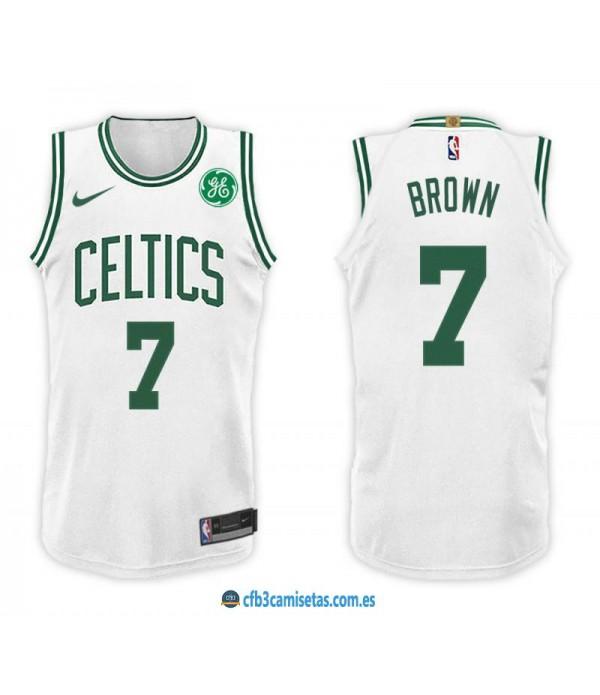 CFB3-Camisetas Jaylen Brown Boston Celtics Associa...