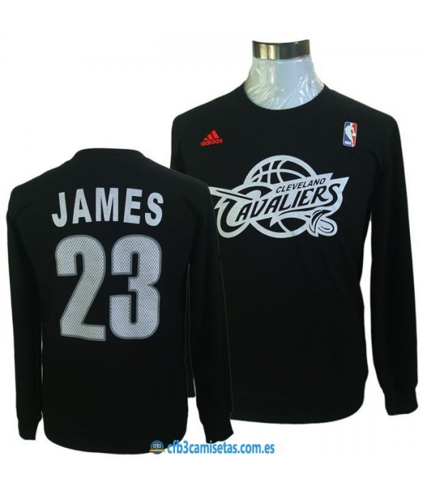 CFB3-Camisetas Jersey James negra