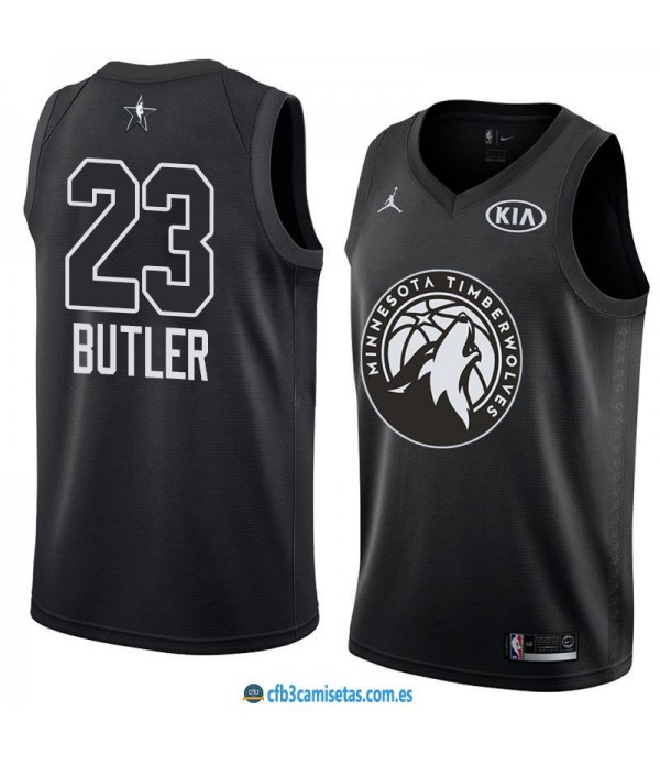 CFB3-Camisetas Jimmy Butler 2018 All Star Black
