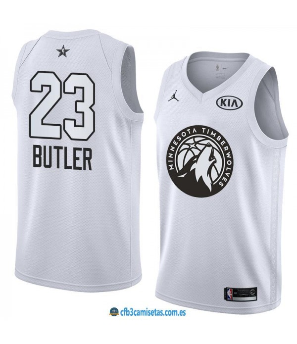 CFB3-Camisetas Jimmy Butler 2018 All Star White