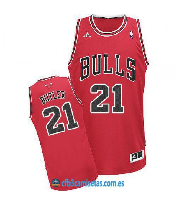 CFB3-Camisetas Jimmy Butler Chicago Bulls Roja