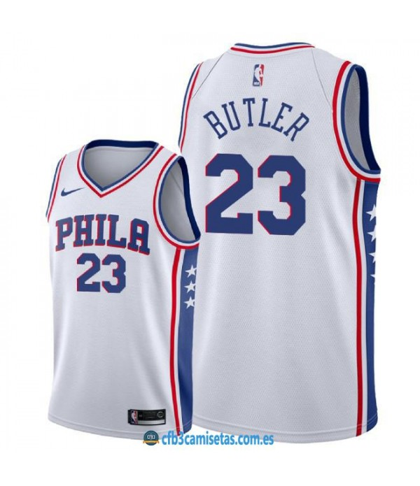 CFB3-Camisetas Jimmy Butler Philadelphia 76ers Ass...
