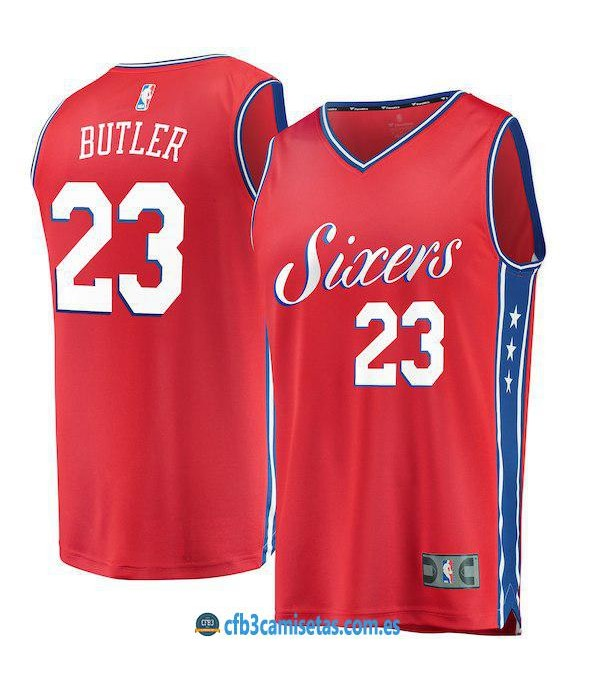 CFB3-Camisetas Jimmy Butler Philadelphia 76ers Statement