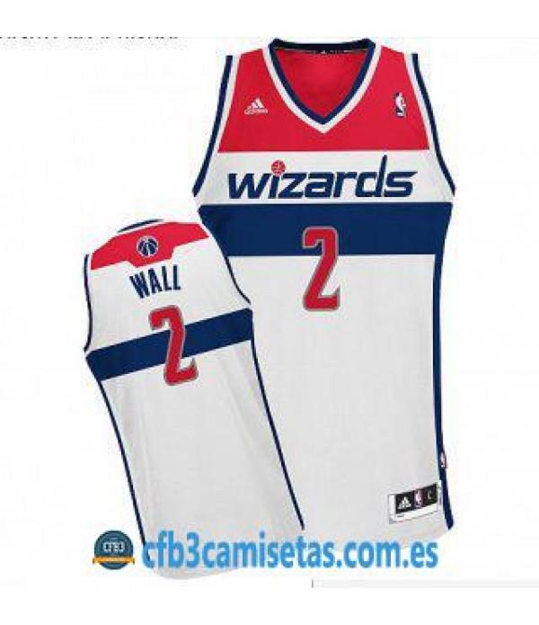 CFB3-Camisetas John Wall Washington Wizards Home