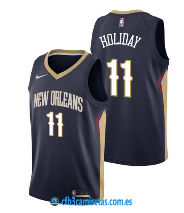 CFB3-Camisetas Jrue Holiday New Orleans Pelicans I...
