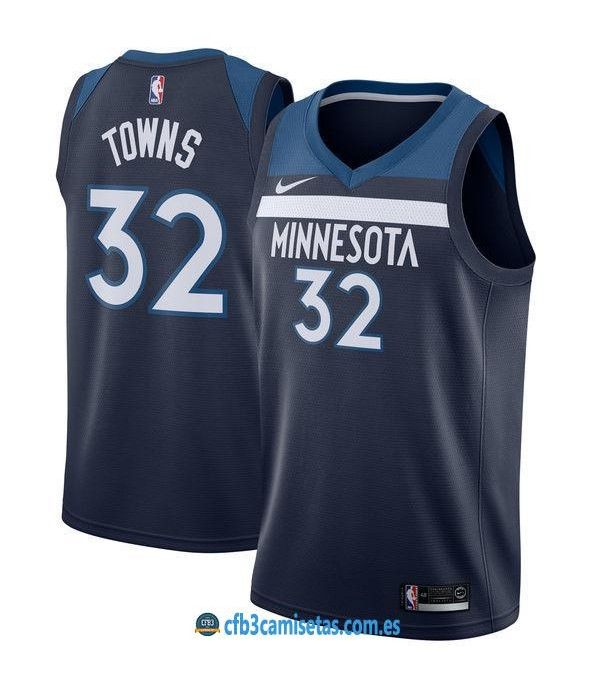 CFB3-Camisetas Karl Anthony Towns Minnesota Timberwolves Icon
