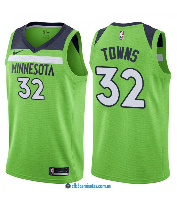 CFB3-Camisetas Karl Anthony Towns Minnesota Timber...