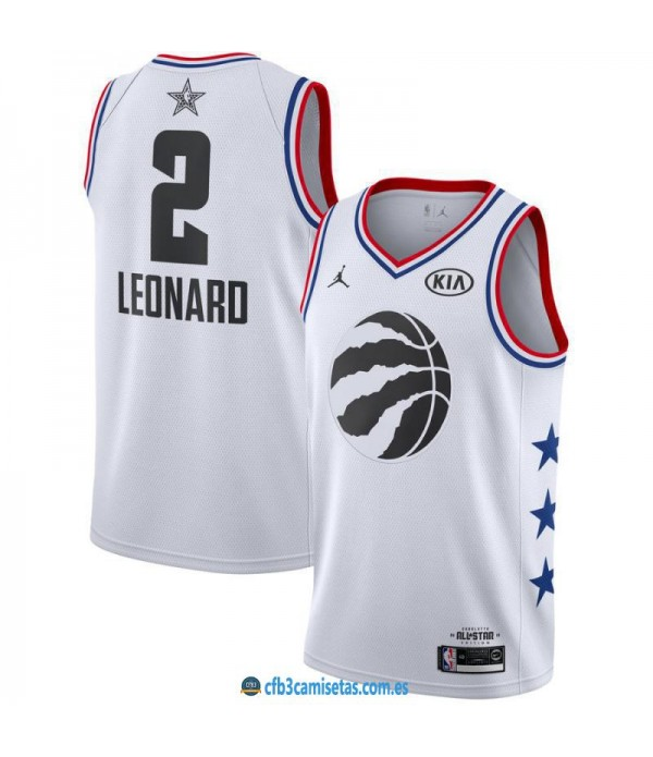 CFB3-Camisetas Kawhi Leonard 2019 All Star White