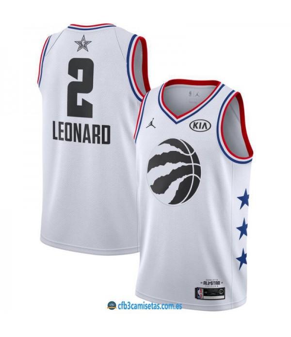 CFB3-Camisetas Kawhi Leonard 2019 All Star White