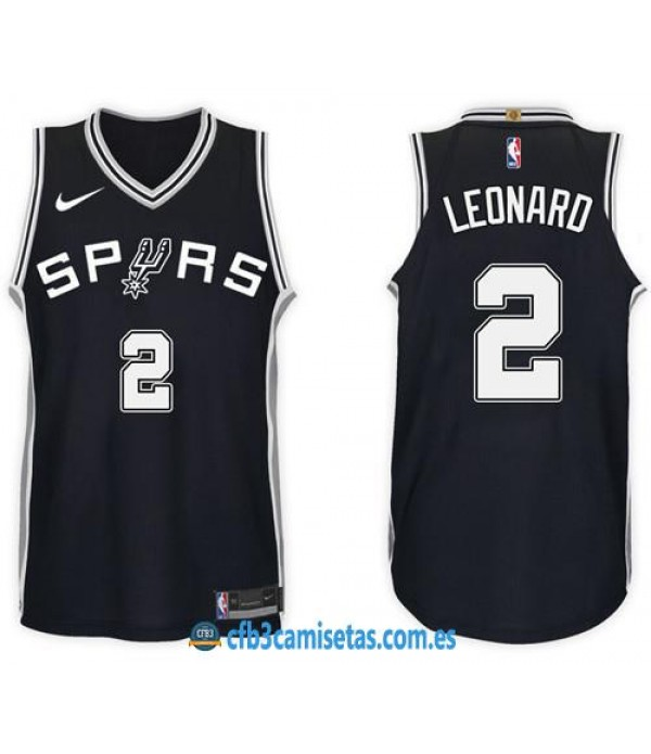 CFB3-Camisetas Kawhi Leonard San Antonio Spurs Ico...