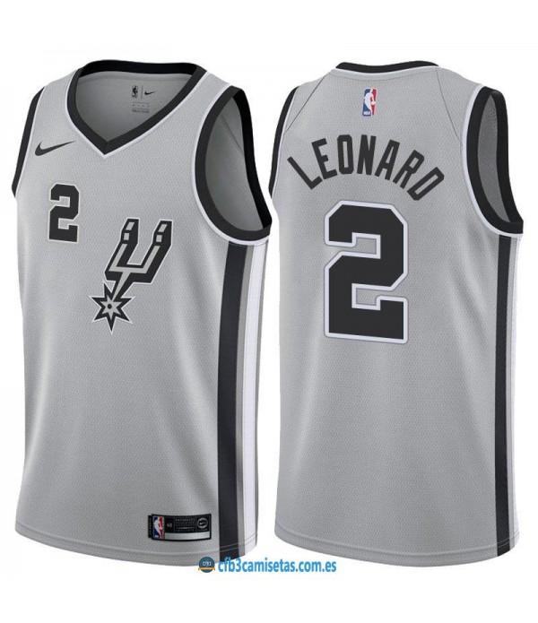 CFB3-Camisetas Kawhi Leonard San Antonio Spurs Sta...