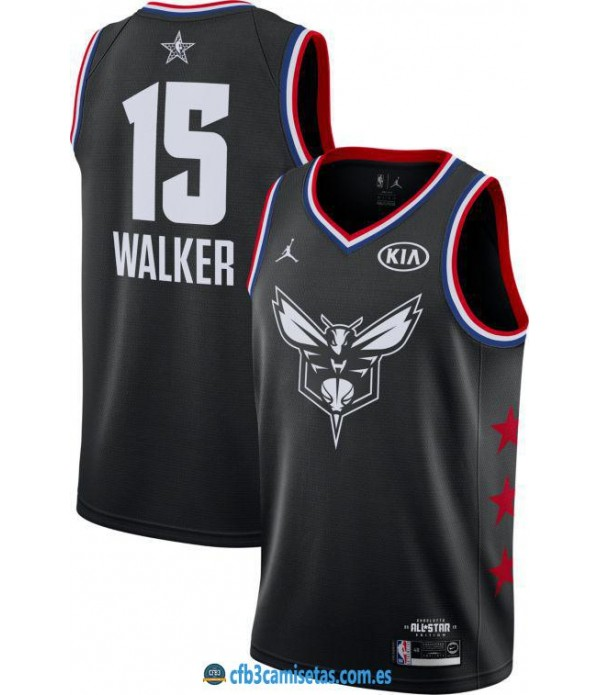CFB3-Camisetas Kemba Walker 2019 All Star Black