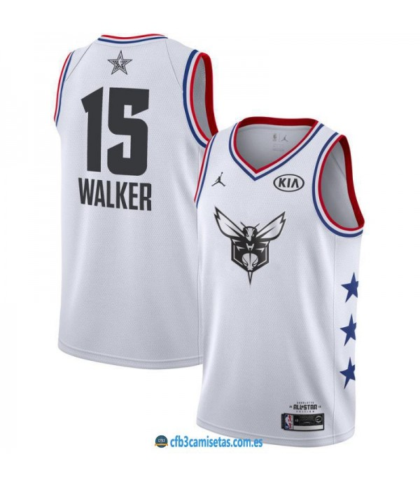 CFB3-Camisetas Kemba Walker 2019 All Star White