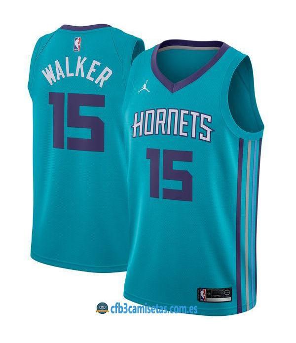 CFB3-Camisetas Kemba Walker Charlotte Hornets Icon