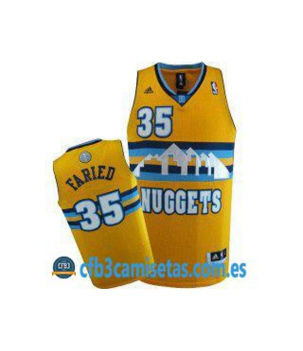 CFB3-Camisetas Kenneth Faried Denver Nuggets Amari...