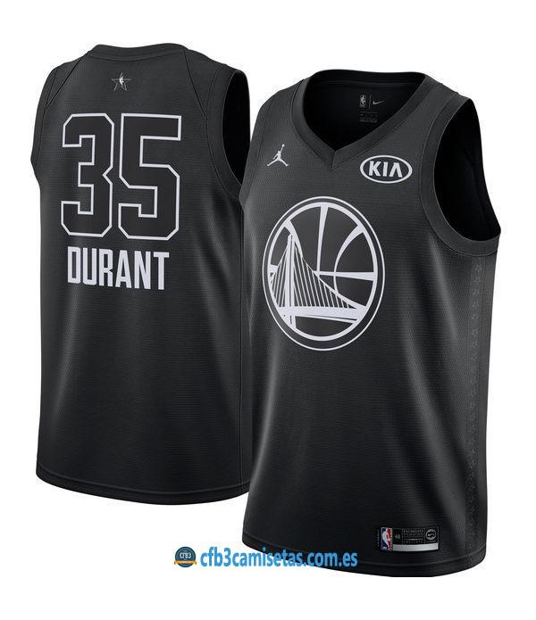CFB3-Camisetas Kevin Durant 2018 All Star Black