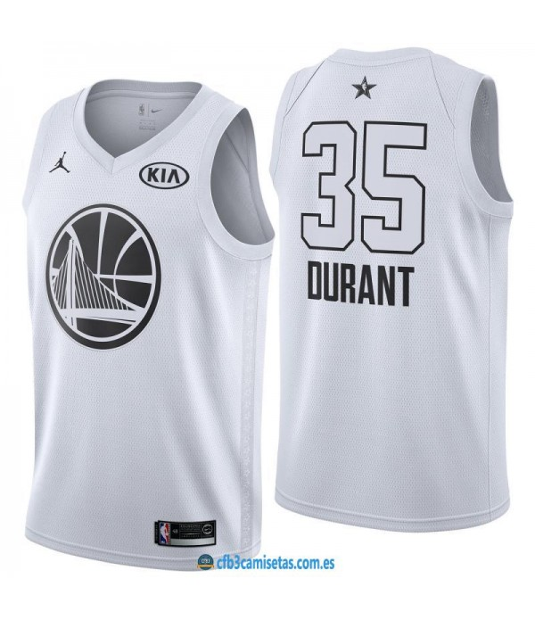 CFB3-Camisetas Kevin Durant 2018 All Star White