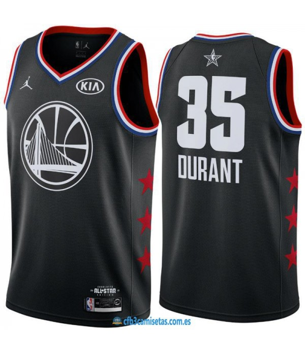 CFB3-Camisetas Kevin Durant 2019 All Star Black