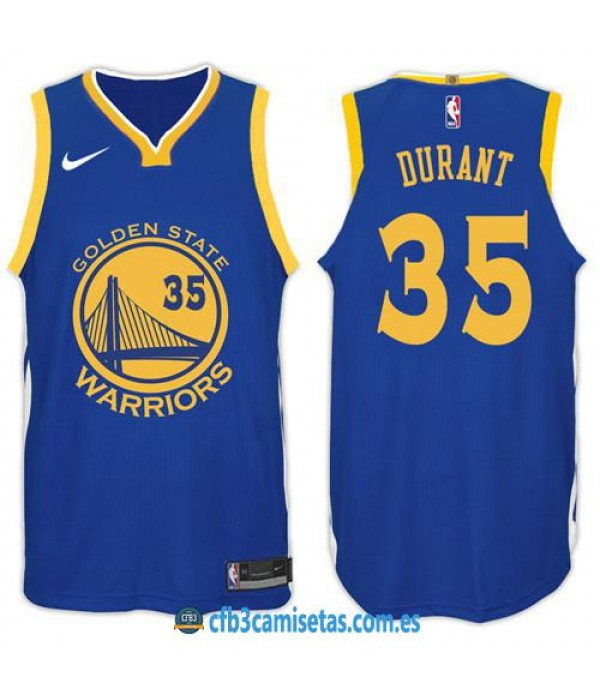 CFB3-Camisetas Kevin Durant Golden State Warriors Icon