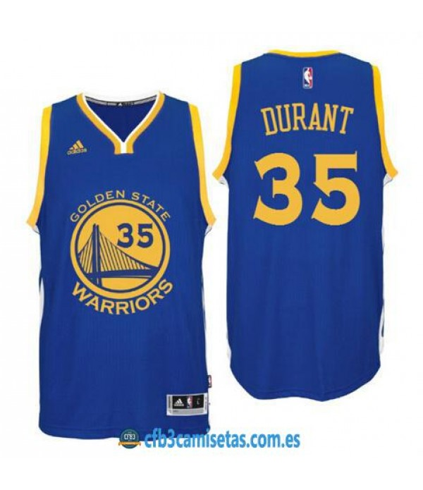 CFB3-Camisetas Kevin Durant Golden State Warriors Road