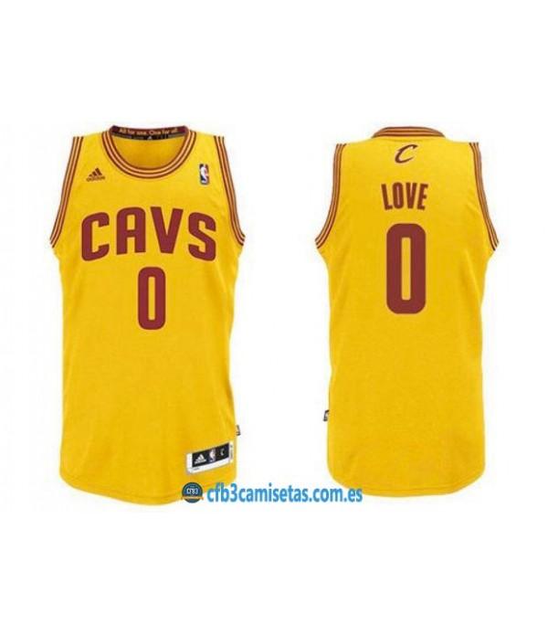 CFB3-Camisetas Kevin Love Cleveland Cavaliers Alte...