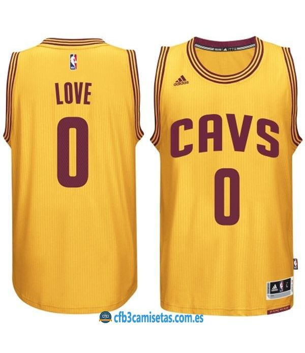 CFB3-Camisetas Kevin Love Cleveland Cavaliers Gold