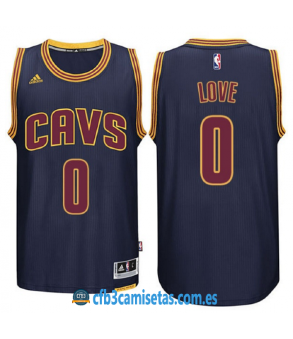 CFB3-Camisetas Kevin Love Cleveland Cavaliers Navy