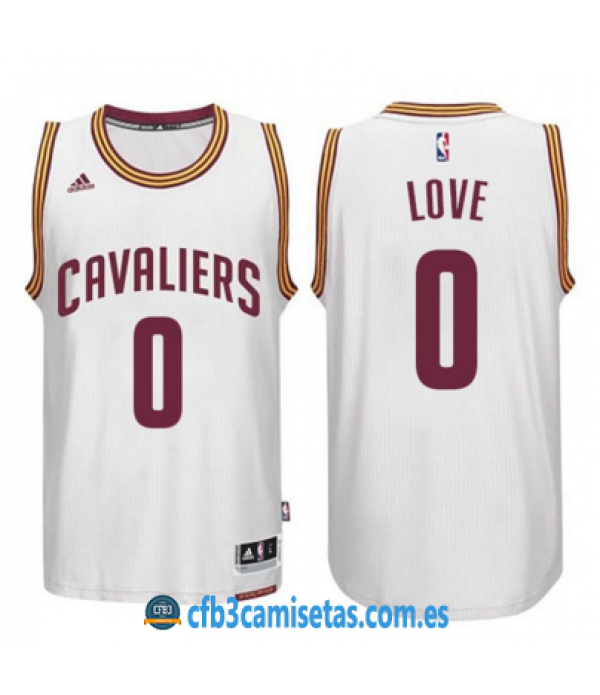 CFB3-Camisetas Kevin Love Cleveland Cavaliers Whit...