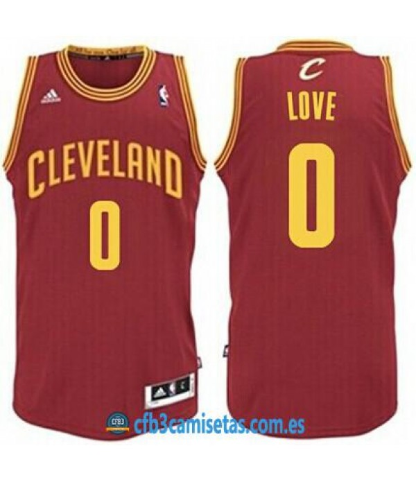 CFB3-Camisetas Kevin Love Cleveland Cavaliers Wine
