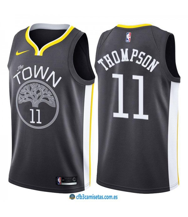CFB3-Camisetas Klay Thompson Golden State Warriors Statement