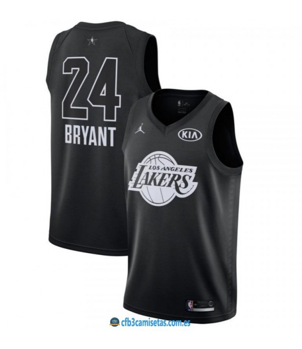CFB3-Camisetas Kobe Bryant 2018 All Star Black