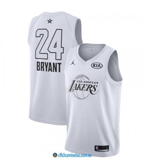 CFB3-Camisetas Kobe Bryant 2018 All Star White