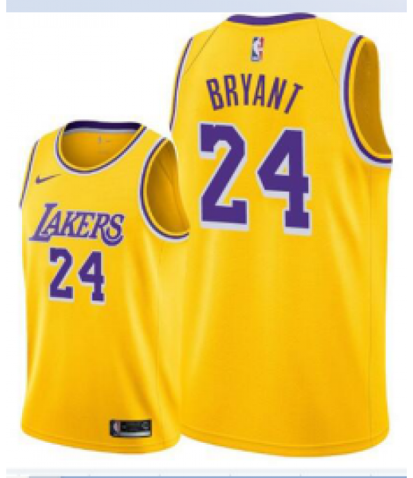 CFB3-Camisetas Kobe Bryant Los Angeles Lakers Icon...