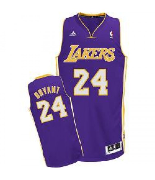 CFB3-Camisetas Kobe Bryant Los Angeles Lakers Morada