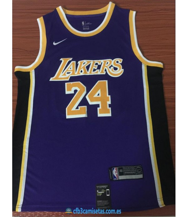 CFB3-Camisetas Kobe Bryant Los Angeles Lakers Stat...
