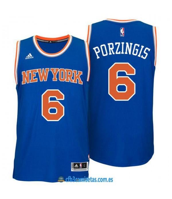 CFB3-Camisetas Kristaps Porzingis New York Knicks Azul