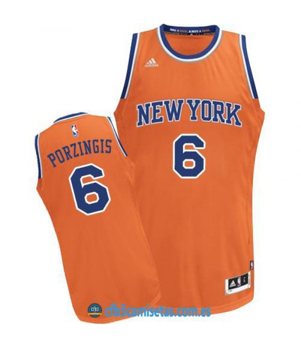 CFB3-Camisetas Kristaps Porzingis New York Knicks ...