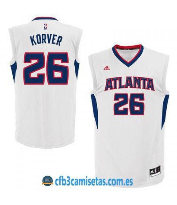 CFB3-Camisetas Kyle Korver Atlanta Hawks Home