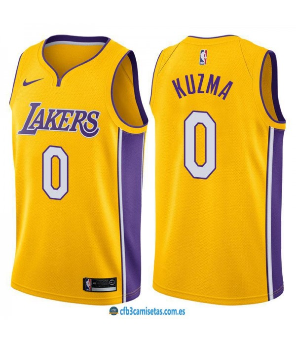 CFB3-Camisetas Kyle Kuzma Los Angeles Lakers Icon