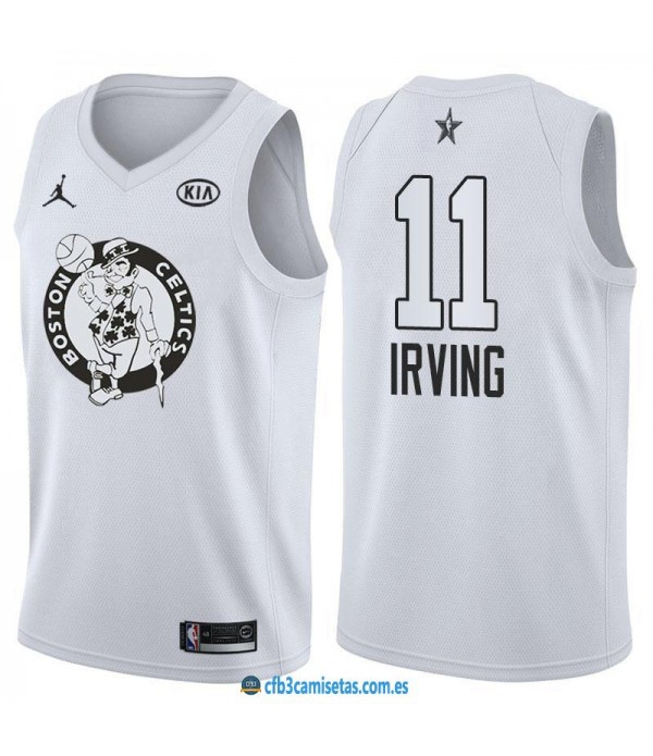 CFB3-Camisetas Kyrie Irving 2018 All Star White