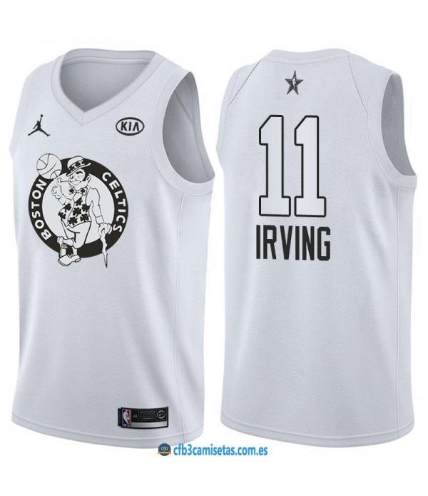 CFB3-Camisetas Kyrie Irving 2018 All Star White