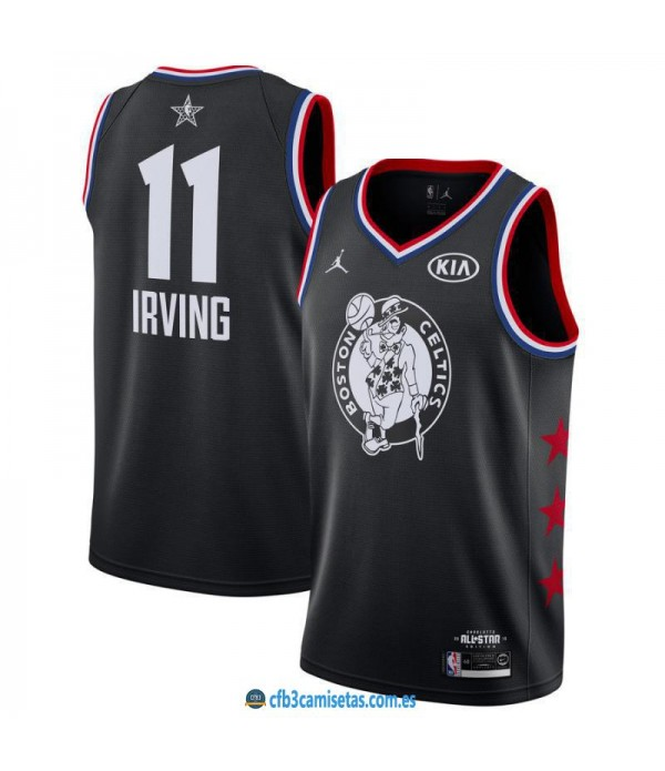 CFB3-Camisetas Kyrie Irving 2019 All Star Black